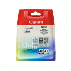 Pack 2 Canon PG-40 / CL-41...