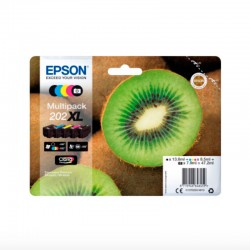 Pack 5 Epson 202XL...