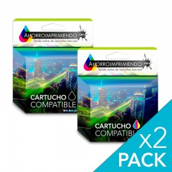 Pack 2 HP 301XL Cartuchos...
